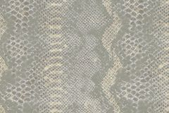 03-STERLING cikkszámú tapéta.Absztrakt,állatok,bőr hatású,különleges motívumos,arany,fehér,szürke,gyengén mosható,papír tapéta