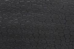 27-HARBOUR cikkszámú tapéta.Bőr hatású,fekete,gyengén mosható,papír tapéta