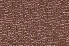 42-COIN cikkszámú tapéta.Bőr hatású,különleges motívumos,barna,gyengén mosható,papír tapéta