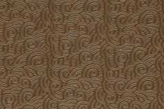 86-BRONZE cikkszámú tapéta.Barokk-klasszikus,bőr hatású,egyszínű,barna,gyengén mosható,papír tapéta