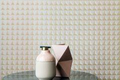 35-POMONA (AJANTA) cikkszámú tapéta.Absztrakt,geometriai mintás,különleges felületű,különleges motívumos,arany,bronz,gyöngyház,lemosható,vlies tapéta