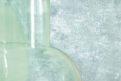 11-HORIZON cikkszámú tapéta.Egyszínű,kőhatású-kőmintás,kék,türkiz,lemosható,papír tapéta