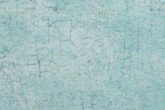 13-AQUA cikkszámú tapéta.Kőhatású-kőmintás,szürke,türkiz,gyengén mosható,papír tapéta