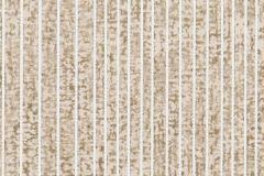 73-STUCCO cikkszámú tapéta.Csíkos,különleges motívumos,textilmintás,bézs-drapp,fehér,gyengén mosható,papír tapéta