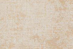 78-WOLF cikkszámú tapéta.Textilmintás,bézs-drapp,fehér,lemosható,vlies tapéta