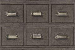 524017 cikkszámú tapéta.Fa hatású-fa mintás,különleges motívumos,barna,bézs-drapp,lemosható,vlies tapéta