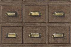 524024 cikkszámú tapéta.Fa hatású-fa mintás,különleges motívumos,arany,barna,lemosható,vlies tapéta