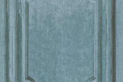 524437 cikkszámú tapéta.Fa hatású-fa mintás,különleges motívumos,kék,türkiz,zöld,lemosható,vlies tapéta