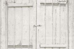 525014 cikkszámú tapéta.Fa hatású-fa mintás,különleges motívumos,fehér,szürke,lemosható,vlies tapéta