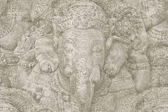 525519 cikkszámú tapéta.állatok,kőhatású-kőmintás,különleges motívumos,bézs-drapp,lemosható,vlies tapéta