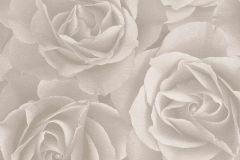 525601 cikkszámú tapéta.Virágmintás,bézs-drapp,lemosható,vlies tapéta