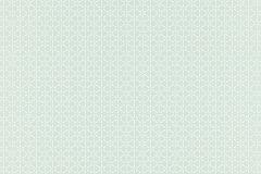 518238 cikkszámú tapéta.Geometriai mintás,fehér,türkiz,zöld,lemosható,vlies tapéta