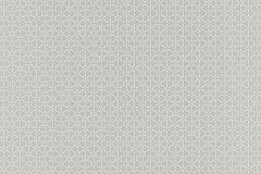 518283 cikkszámú tapéta.Geometriai mintás,fehér,szürke,lemosható,vlies tapéta