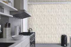 879803 cikkszámú tapéta.Konyha-fürdőszobai,fehér,szürke,lemosható,papír tapéta
