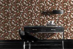 403916 cikkszámú tapéta.3d hatású,különleges felületű,arany,pink-rózsaszín,lemosható,vlies tapéta