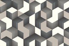 403923 cikkszámú tapéta.3d hatású,különleges felületű,ezüst,fehér,szürke,lemosható,vlies tapéta
