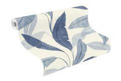 407532 cikkszámú tapéta.Különleges felületű,természeti mintás,kék,vajszín,lemosható,vlies tapéta