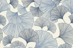 407655 cikkszámú tapéta.Különleges felületű,természeti mintás,fehér,kék,lemosható,vlies tapéta