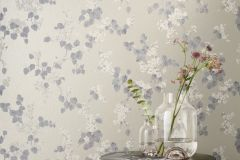 501544 cikkszámú tapéta.Metál-fényes,virágmintás,arany,barna,fehér,szürke,lemosható,vlies tapéta