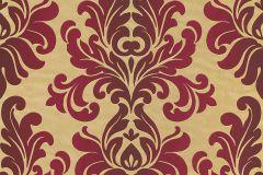 546101 cikkszámú tapéta.Barokk-klasszikus,arany,piros-bordó,lemosható,vlies tapéta