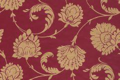 546309 cikkszámú tapéta.Barokk-klasszikus,természeti mintás,virágmintás,arany,barna,piros-bordó,lemosható,vlies tapéta