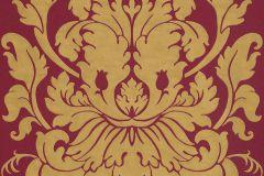 546408 cikkszámú tapéta.Barokk-klasszikus,arany,barna,piros-bordó,lemosható,vlies tapéta