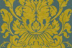 546453 cikkszámú tapéta.Barokk-klasszikus,arany,barna,kék,sárga,zöld,lemosható,vlies tapéta