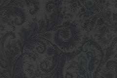 533682 cikkszámú tapéta.Barokk-klasszikus,különleges felületű,különleges motívumos,fekete,szürke,lemosható,vlies tapéta