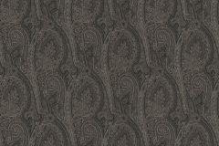 513950 cikkszámú tapéta.Különleges felületű,különleges motívumos,rajzolt,természeti mintás,textil hatású,textilmintás,virágmintás,fekete,szürke,lemosható,Vlies tapéta