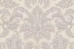 515800 cikkszámú tapéta.Barokk-klasszikus,különleges felületű,rajzolt,textil hatású,virágmintás,barna,bézs-drapp,lemosható,Vlies tapéta
