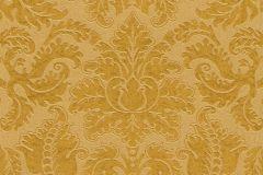 515824 cikkszámú tapéta.Barokk-klasszikus,különleges felületű,különleges motívumos,textil hatású,textilmintás,virágmintás,arany,lemosható,Vlies tapéta