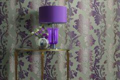 517859 cikkszámú tapéta.Csíkos,különleges felületű,különleges motívumos,metál-fényes,textil hatású,textilmintás,bézs-drapp,bronz,lila,narancs-terrakotta,szürke,vajszín,lemosható,Vlies tapéta