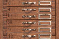 938111 cikkszámú tapéta.Fa hatású-fa mintás,feliratos-számos,különleges motívumos,barna,lemosható,illesztés mentes,vlies tapéta