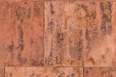 939736 cikkszámú tapéta.Fémhatású - indusztriális,barna,bronz,narancs-terrakotta,lemosható,vlies tapéta