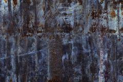 940916 cikkszámú tapéta.Fémhatású - indusztriális,különleges motívumos,barna,fekete,kék,szürke,vlies panel, fotótapéta