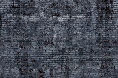 940954 cikkszámú tapéta.Kőhatású-kőmintás,különleges motívumos,fekete,szürke,vlies panel, fotótapéta