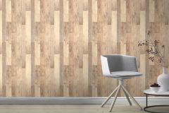 941630 cikkszámú tapéta.Fa hatású-fa mintás,barna,bézs-drapp,lemosható,illesztés mentes,vlies tapéta