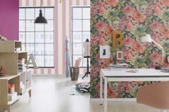 448542 cikkszámú tapéta.Egyszínű,textil hatású,pink-rózsaszín,lemosható,illesztés mentes,vlies tapéta