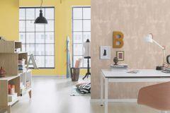 449839 cikkszámú tapéta.Egyszínű,textil hatású,sárga,lemosható,illesztés mentes,vlies tapéta
