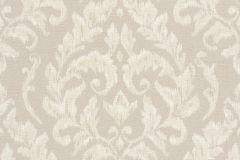 449907 cikkszámú tapéta.Barokk-klasszikus,textil hatású,bézs-drapp,szürke,lemosható,vlies tapéta