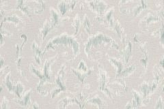 449914 cikkszámú tapéta.Barokk-klasszikus,textil hatású,fehér,kék,szürke,lemosható,vlies tapéta