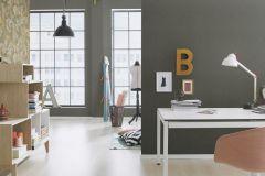 449853 cikkszámú tapéta.Egyszínű,textil hatású,szürke,lemosható,illesztés mentes,vlies tapéta