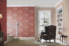 455366 cikkszámú tapéta.Barokk-klasszikus,textil hatású,piros-bordó,szürke,lemosható,vlies tapéta
