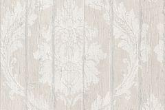 436600 cikkszámú tapéta.Barokk-klasszikus,fa hatású-fa mintás,retro,bézs-drapp,fehér,lemosható,vlies tapéta