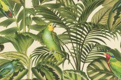 439533 cikkszámú tapéta.állatok,természeti mintás,narancs-terrakotta,piros-bordó,sárga,vajszínű,zöld,lemosható,vlies tapéta