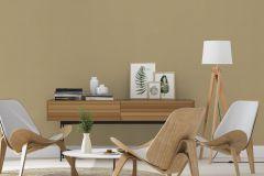 441659 cikkszámú tapéta.Egyszínű,arany,barna,lemosható,illesztés mentes,vlies tapéta