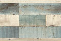 442120 cikkszámú tapéta.Fa hatású-fa mintás,bézs-drapp,kék,szürke,lemosható,illesztés mentes,vlies tapéta