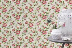 442205 cikkszámú tapéta.Természeti mintás,virágmintás,fehér,pink-rózsaszín,piros-bordó,zöld,lemosható,vlies tapéta