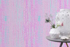 444520 cikkszámú tapéta.Absztrakt,dekor,metál-fényes,kék,pink-rózsaszín,zöld,lemosható,illesztés mentes,vlies tapéta
