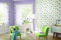 436334 cikkszámú tapéta.Egyszínű,különleges felületű,lila,lemosható,illesztés mentes,vlies tapéta